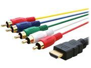 Insten 1846943 5 FT HDMI to 5 RCA Cable