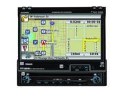 "Dual In-Dash 7"" DVD Player / GPS Navigation System"