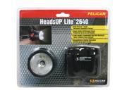 Pelican 2640-030-110 HeadsUp Lite 2640 Flashlight with Energizer Battery, Black