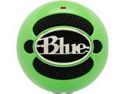 Blue Microphones SnowballNeonGreen Green Live Sound