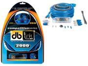 DB Link CK4Z 4 gauge Competition Series Amplifier Installation Kit