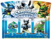 Activision Skylanders Spyros Adventure Triple Pack with Zap - Hex - Dino-Rang Multi 9SIV16A6728217