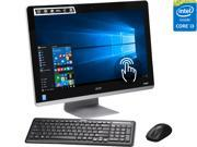 """Acer All-in-One Computer Aspire AZ3-710-UR55 Intel Core i3 4170T (3.20 GHz) 6 GB DDR3 1 TB HDD 23.8"""" Touchscreen Windows 10 Home"""