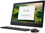 "Acer Chromebase DC221HQ WMICZ All-in-One Computer NVIDIA Tegra K1 Up to 2.1 GHz 4 GB DDR3 16 GB SSD NVIDIA Integrated Graphics 21.5"" Touchscreen 1920 x 1080 Google Chrome OS"