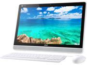 """Acer Chromebase DC221HQ WMICZ All-in-One Computer NVIDIA Tegra K1 Up to 2.1 GHz 4 GB DDR3 16 GB SSD NVIDIA Integrated Graphics 21.5"""" Touchscreen 1920 x 1080 Google Chrome OS"""
