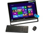 "Acer All-in-One PC Aspire AZ3-605-UR22 (DQ.SQDAA.001) Intel Core i3 3227U (1.90 GHz) 4 GB DDR3 1 TB HDD 23"" Touchscreen Windows 8 64-Bit"