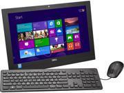 """DELL Desktop PC Inspiron i3043-1250BLK Celeron N2830 (2.16 GHz) 4 GB DDR3 500 GB HDD 19.5"""" Windows 8.1 64-Bit"""