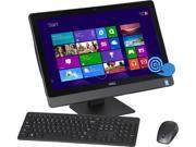 "DELL All-in-One PC Inspiron i5348-5557BLK-2H Intel Core i5 4460S (2.90GHz) 8GB DDR3 1TB HDD 23"" Touchscreen Windows 8.1 64-Bit"