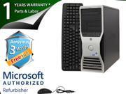 DELL Desktop Computer 390 Core 2 Duo E6300 (1.86 GHz) 2 GB DDR2 80 GB HDD Windows 7 Home Premium 32-Bit