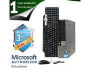 DELL Desktop Computer 780 Pentium E5300 (2.60GHz) 8GB DDR3 320GB HDD Windows 7 Professional 64-Bit