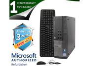 DELL Desktop Computer 790 Intel Core i3 2100 (3.10GHz) 4GB DDR3 250GB HDD Windows 7 Professional 64-Bit