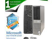 DELL Desktop Computer OptiPlex 960 Core 2 Duo E8400 (3.00 GHz) 4 GB DDR2 160 GB HDD Windows 7 Professional 64-Bit