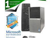 DELL Desktop Computer OptiPlex 960 Core 2 Duo E8400 (3.00GHz) 4GB DDR2 250GB HDD Windows 7 Professional 64-Bit