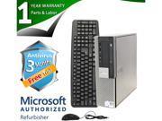 DELL Desktop Computer OptiPlex 980 Intel Core i3 530 (2.93GHz) 4GB DDR3 160GB HDD Windows 7 Professional 64-Bit