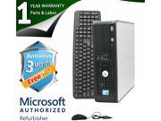 DELL Desktop Computer 780 Core 2 Quad Q8200 (2.33 GHz) 8 GB DDR3 1 TB HDD Windows 7 Professional 64-Bit