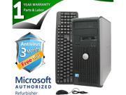 DELL Desktop Computer 780 Core 2 Quad Q6600 (2.40GHz) 8GB DDR3 2TB HDD Windows 7 Professional 64-Bit
