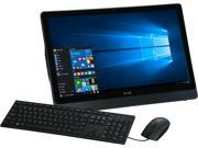 DELL All in One Computer Inspiron i3455 1241BLK AMD E Series E2 7110 1.8 GHz 4 GB DDR3L 500 GB HDD 23.8 Windows 10 Home 64 Bit