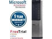 Refurbished DELL OptiPlex 990 Desktop Intel Core I5 2400 3.1G / 16G DDR3 / 1TB / DVD / Windows 7 Professional 64 Bit / 1 Year Warranty