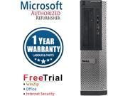 DELL Desktop Computer OptiPlex 3010 Intel Core i5 3.1 GHz 8 GB DDR3 2 TB HDD Windows 10 Pro