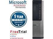 Refurbished Dell OPTIPLEX 9010 Desktop Intel Core I3 3220 3.3G/ 8G DDR3 / 2TB / DVD / Windows 10 Professional