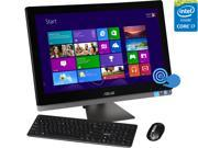 """ASUS All-in-One Computer ET2702IGTH-C2 Intel Core i5 4460S (2.90 GHz) 8 GB DDR3 2 TB HDD 27"""" Touchscreen Windows 8.1 64-Bit"""