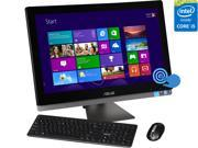 "ASUS All-in-One Computer ET2702IGTH-C2 Intel Core i5 4460S (2.90 GHz) 8 GB DDR3 2 TB HDD 27"" Touchscreen Windows 8.1 64-Bit"