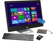 "HP All-in-One PC ENVY Recline 27-k150 Intel Core i5 4570T (2.90 GHz) 12 GB DDR3 1 TB HDD 16 GB SSD 27"" Touchscreen Windows 8.1"