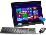 "Lenovo All-in-One PC C260 Touch 57327041 Pentium J2900 (2.41 GHz) 4 GB DDR3 500 GB HDD 19.5"" Touchscreen Windows 8.1 64-bit"