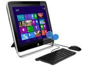 "HP Pavilion A4-Series APU A4-5000 (1.5GHz) 4GB DDR3 1TB HDD 21.5"" Touchscreen All-in-One PC Windows 8.1 64-Bit 21-h010 (F3D31AAR#ABA)"