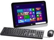 "HP All-in-One PC 18-5110 (G4B05AA#ABA) AMD Dual-Core Processor E1-2500 (1.40GHz) 4GB DDR3 500GB HDD 18.5"" Windows 8.1"