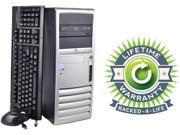 HP Compaq Desktop PC Core 2 Duo 1.8GHz 2GB 80GB HDD Windows 7 Professional