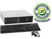 HP Compaq Desktop PC Core 2 Duo 2.3GHz 2GB 120GB HDD Windows 7 Professional