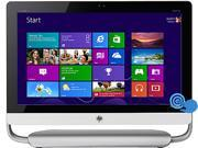 "HP ENVY TouchSmart Intel Core i5 4440s (2.80GHz) 8GB DDR3 1 TB + 8 GB SSHD HDD 23"" Touchscreen All-in-One PC Windows 8.1 64-Bit 23SE-D494 (F3D93AAR#ABA)"