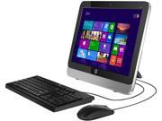 "HP 18"" All-In One Desktop (18-5110) with AMD E1-2500 1.40Ghz, 4GB RAM, 500GB HDD, Radeon HD 8240, Webcam, Windows 8.1"