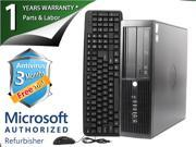 HP Desktop Computer 4000 Pro Pentium E5800 (3.20 GHz) 2 GB DDR3 80 GB HDD Windows 7 Professional 64-Bit