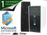 HP Desktop Computer DC5800 Core 2 Duo E8400 (3.00GHz) 4GB DDR2 160GB HDD Windows 7 Professional 64-Bit
