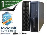 HP Desktop Computer 6000 Pro Pentium E6300 (2.80 GHz) 4 GB DDR3 250 GB HDD Windows 7 Professional 64-Bit