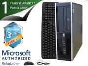 HP Desktop Computer 6005 Pro Athlon II X2 B24 (3.00 GHz) 4 GB DDR3 750 GB HDD Windows 7 Professional 64-Bit