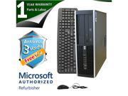 HP Desktop Computer 6000 Pro Pentium E6300 (2.80 GHz) 8 GB DDR3 250 GB HDD Windows 7 Professional 64-Bit
