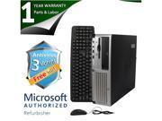 Discount Electronics On Sale HP Desktop Computer DC5100 Pentium 4 2.8GHz 2GB DDR2 80GB HDD Windows 7 Home Premium 32-Bit
