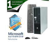 HP Desktop Computer DC5850 Athlon X2 4450B (2.3 GHz) 2 GB DDR2 80 GB HDD Windows 7 Home Premium 32-Bit