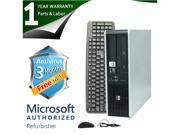 HP Desktop Computer DC5850 Athlon 64 X2 5400B (2.8GHz) 4GB DDR2 160GB HDD Windows 7 Home Premium 64-Bit