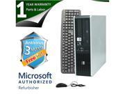 HP Desktop Computer DC5850 Athlon 64 X2 5400B (2.8GHz) 4GB DDR2 320GB HDD Windows 7 Home Premium 64-Bit