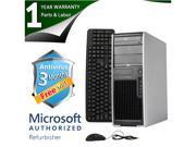 HP Desktop Computer XW4300 Pentium 4 3.0GHz 2GB DDR2 80GB HDD Windows 7 Home Premium 32-Bit