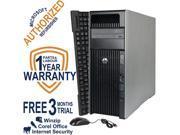 HP Desktop Computer Z620 WS Intel Xeon E5-2609 (2.4 GHz) 8 GB DDR3 1 TB HDD Windows 7 Professional 64-Bit