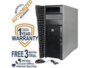 HP Desktop Computer Z620 WS Intel Xeon E5-1620 v2 (3.7 GHz) 8 GB DDR3 1 TB HDD Windows 7 Professional 64-Bit