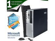 HP Desktop Computer DC5100 Pentium 4 2.8 GHz 2 GB DDR2 320 GB HDD Windows 7 Professional 32 bit