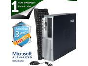 HP Desktop Computer DC7700 Core 2 Duo E6300 (1.86 GHz) 2 GB DDR2 320 GB HDD Windows 7 Home Premium 32 bit