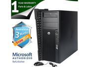 HP Desktop Computer Z210 Intel Core i3 3.1 GHz 4 GB DDR3 250 GB HDD Windows 7 Professional 64 Bit