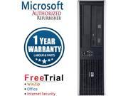 HP Desktop Computer DC7900-SFF Core 2 Quad Q6600 (2.40 GHz) 4 GB DDR2 500 GB HDD Windows 10 Pro Multi-Language, English / Spanish